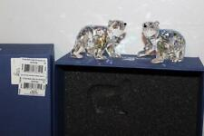 New ListingSwarovski Polar Bear Cubs Crystal Moonlight Scs 9100 000 260 / 079 156 Hi Value