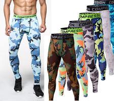 Компрессионные штаны база под слой мужчины спортивной одежды длинный фитнес спортзал леггинсы