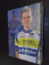 72791 Dries van Gestel Radsport original signierte Autogrammkarte