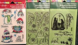 Stampendous Christmas Stamps Lot to choose from