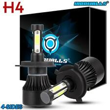 Cree H4 9003 1700W LED Headlight Conversion Kit 6500K 255000LM Bulb HI-LO Beam