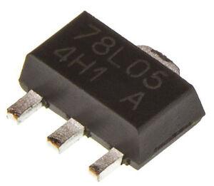 150mA 5V, ±4% TS78L05ACY RM Voltage Regulator Taiwan Semiconductor 4-Pin SOT-89