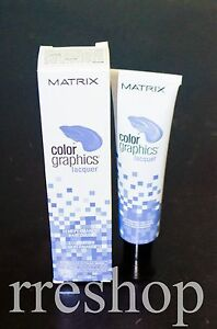 MATRIX COLOR GRAPHICS LACQUER SEMI-PERMANENT (LIGHT INDIGO) - 3 FL OZ