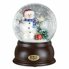 Happy Snowman Snow Globe by Old World Christmas-LED Lighted