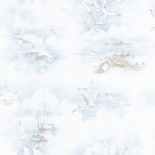 Essener Tapete Global Fusion G56423 möven Sea Beach Boat Fleece Wallpaper