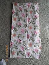 Linens & Textiles Vintage Laura Ashley Lined Cotton Curtain 1 Panel Beige New