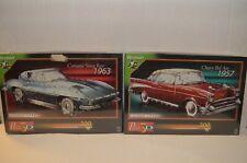 (2) Corvette Sting Ray 1963 & Chevy Bel Air 1957 (Puzz 3D) 300-Piece 3D Puzzles