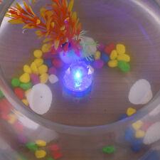 Hot LED Deep Drop Underwater Diamond Flashing Fishing Light Bait Lure Squid Blue