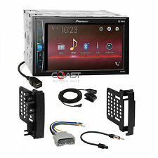 Pioneer 2018 USB Bluetooth Stereo Dash Kit Harness for 07+ Chrysler Dodge Jeep