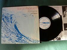 BANDA TEPEUANI : Por la paz en EL SALVADOR - LP 1982 German TOPAS 660000 + INLAY