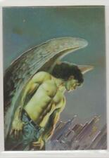 """1994 Boris Vallejo'S """"Metal Angel"""" Male Art Chromium Card # 10 Ex"""