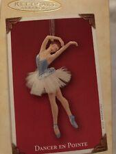Hallmark Keepsake 2004 Dancer En Pointe Ballerina Christmas Ornament