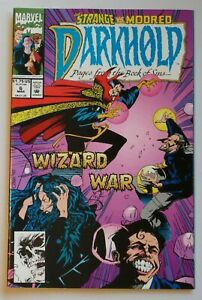Darkhold Pages from the Book of Sins #6 1993 Marvel Comic Book Horror 6206