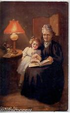 GRANNIE'S DARLING TUCK series Oilette 9542 UK PC Posted 1919