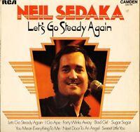 NEIL SEDAKA let's go steady again CDS 1151 uk camden LP PS VG+/EX