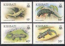 Kiribati 1986 LUCERTOLE GECHI// Animali/NATURA/conservazione della Fauna/4 V Set n39749