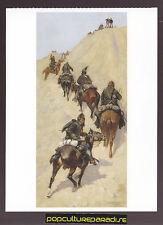 FREDERIC REMINGTON Scouts Climbing a Mountain (1891) ARTWORK PAINTING POSTCARD