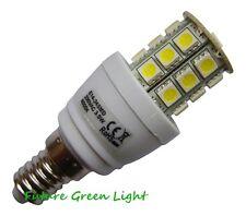 E14 SES 24 SMD LED 240V 3.8W 370LM WHITE BULB ~50W