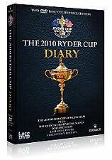 Ryder Cup 2010 - Diary And Official Film (DVD, 2010, Box Set) New