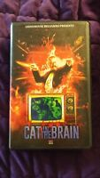 Cat in the Brain Orange Cover #18/25 Lucio Fulci VHS RARE Grindhouse Cult Movie