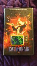 Cat in the Brain Orange Cover #18/25 Lucio Fulci VHS RARE Grindhouse Cult Movie