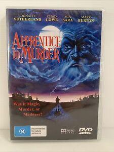 Apprentice To Murder NEW SEALED DVD 2004 Region Free Donald Sutherland Chad Lowe