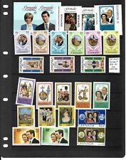 Grenada 1972-82 Royalty selection mint