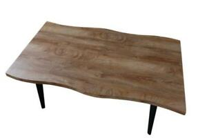 Sussex Dining Table Natural Wood Kitchen Furniture 150 x 90 x 76 cm