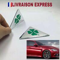 X2 Sticker Alfa Roméo Trèfle quadrifoglio verde auto gt, brera, 147,159,