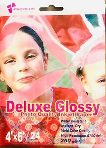 260gsm 4x6 Glossy photo paper 96 sheet 6x4 Glossy Photo Paper Thick paper 260gsm