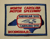 Rockingham NC North Carolina Motor Speedway American 500 Patch New NOS 1980s