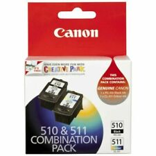 Canon PG-510 & CL-511 Black & Tricolour Ink Cartridge Twin Pack Combo