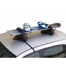 Menabo Branded Car Roof Mounted Magnetic Snowboards & Ski Rack Holder Carrier