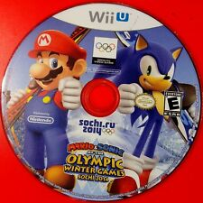 Mario & Sonic at the Sochi 2014 Olympic Winter Games ( Wii U) Disc Only #14071