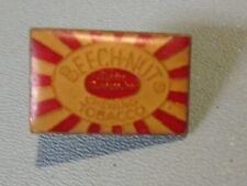 """Vintage Beech-Nut Chewing Tobacco 0.75"""" Lapel Pin Tie Tac Enamel and Metal"""