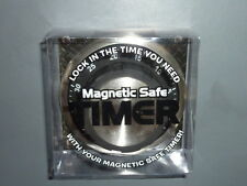 NEW Streamline Magnetic Safe Kitchen 60 Minute Wind UP Timer BLACK