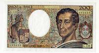 Billet de 200 francs Montesquieu, 1992 SPL
