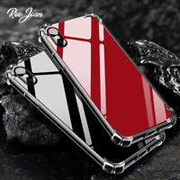 Mirror Case For iPhone X 7 8 Plus 6S Anti Shockproof Hard Acrylic Back TPU Cover