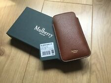 MULBERRY OAK GRAINED LEATHER iPHONE 6 / 6s/7 POUCH