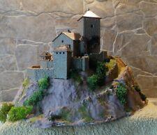 Kibri  7044   (Spur N)    Burg  Branzoll - fertig gebaut