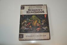 DUNGEONS AND DRAGONS FORGOTTEN REALMS SERPENT KINGDOMS RPG HARDBACK BOOK