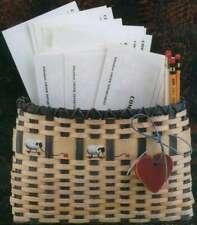 "Burgundy Hill Basket Kit Wall Basket 9""X7"" 752303128409"