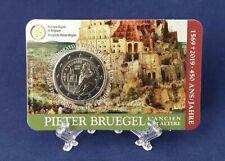 Belgie 2019 2 Euro Pieter Bruegel coincard waals