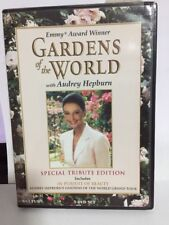 """Gardens of the World"" - Audrey Hepburn - Special Tribute Edition 3-DVD - 'RARE'"