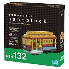San Francisco Cable Car Nanoblock Miniature Building Blocks New Sealed NBH 132