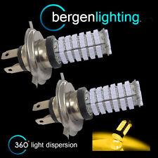 2x H4 GIALLO 120 LED ant. ABBAGLIANTE & KIT FARI ANABBAGLIANTI XENON hm501003