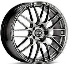 18 ENKEI EKM3 SILVER RIMS 18x8 +40 5x110 (4 NEW WHEELS)