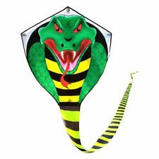 Large Cobra Kite For Kids Adults With Super Long Tail (49 Ft) Best For The Beach