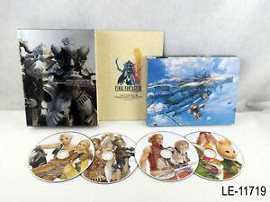 Final Fantasy 12 XII Original Soundtrack Limited Edition JP Import US Seller B