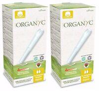 Organyc Algodón Orgánico TAMPONES REGULAR 16 x 2 - 100% no Perfumado